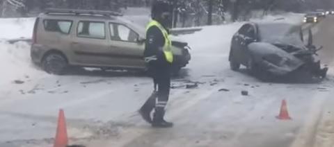 В ДТП в Заволжском районе Ярославля один человек погиб, один травмирован