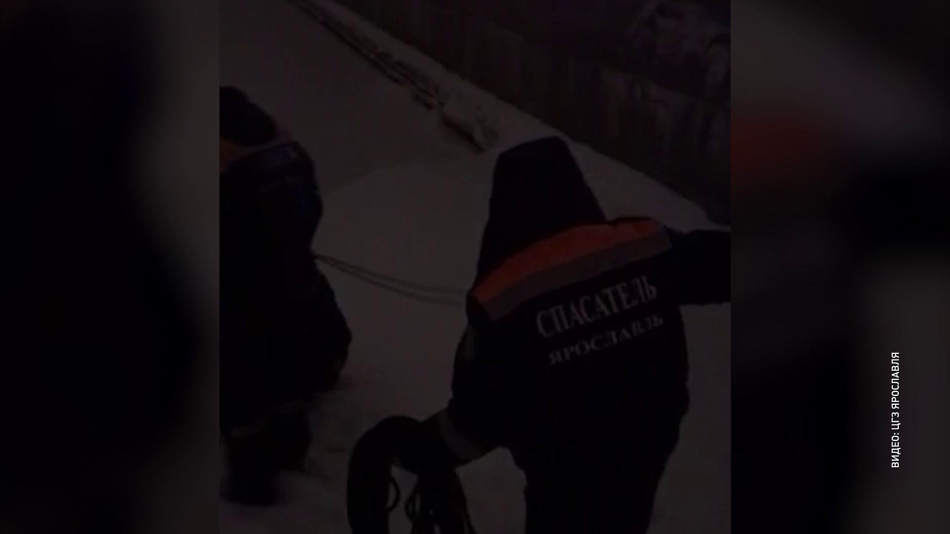 Ярославец провалился под лед