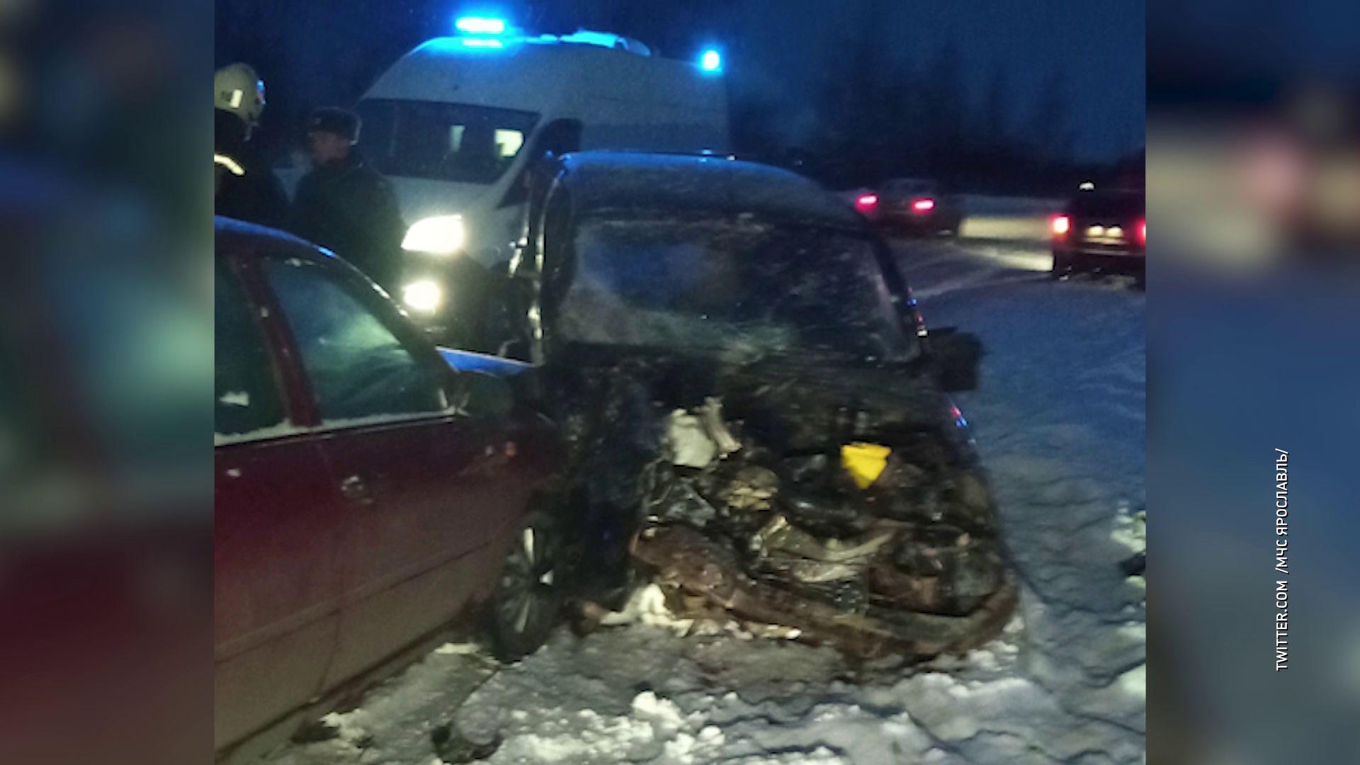 Страшное ДТП в Рыбинске унесло жизнь 39-летней женщины