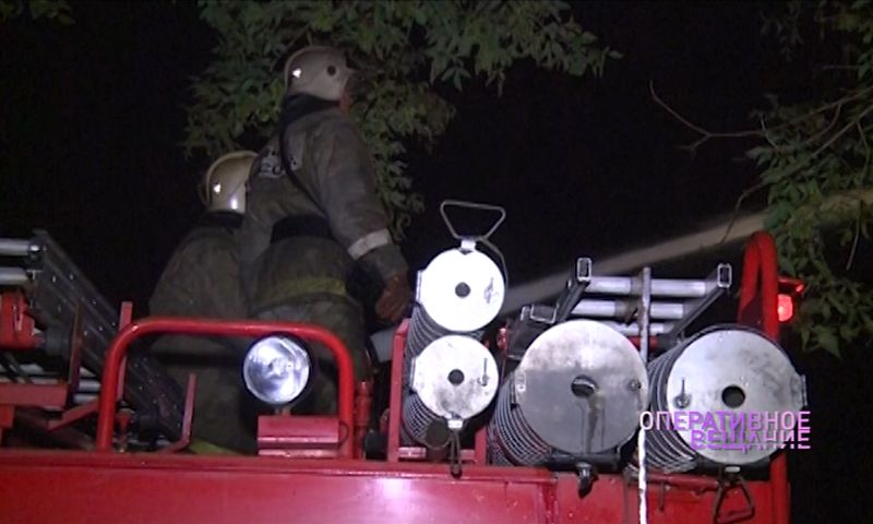 В Рыбинске в сильном пожаре погибли четыре человека