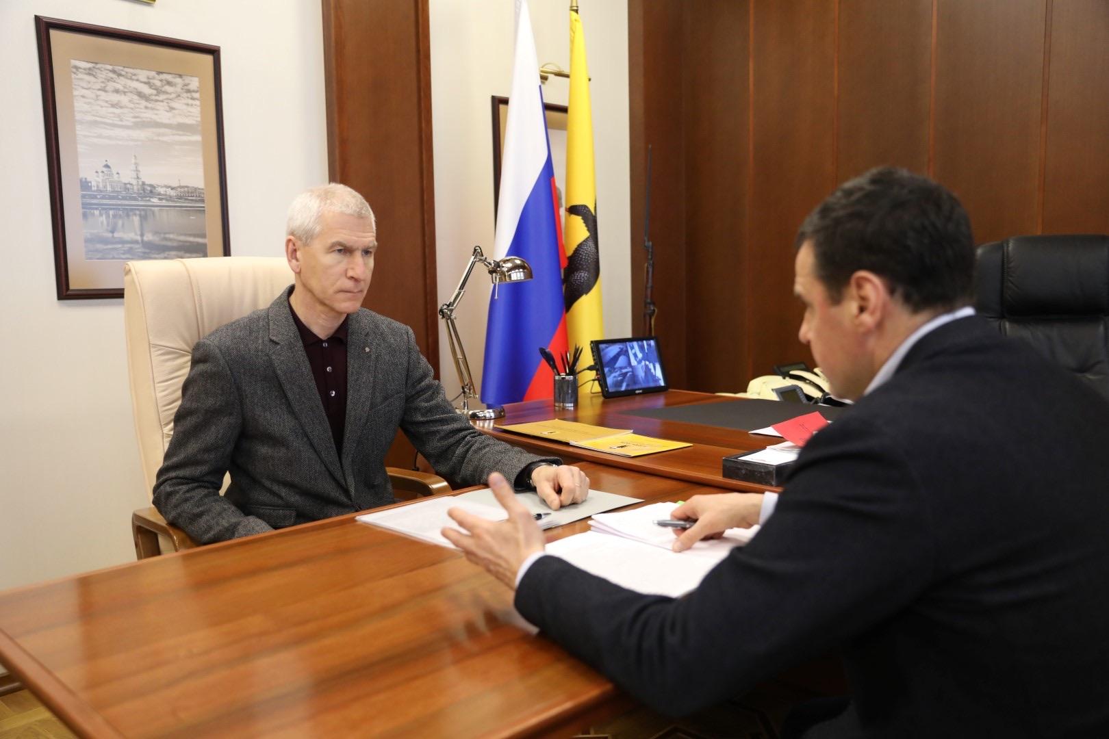 Дмитрий Миронов и Олег Матыцин обсудили перспективные направления совместной работы по развитию спорта