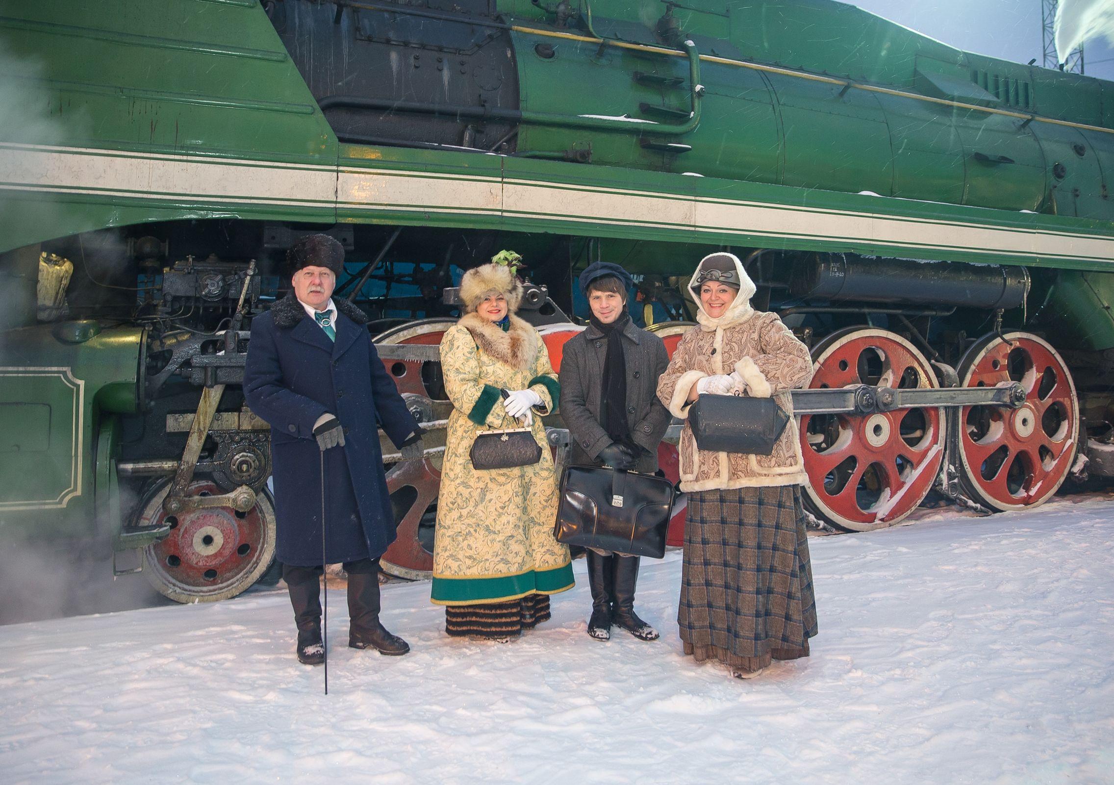 Между Ярославлем и Рыбинском ретро-поезд начал курсировать вместо пригородного состава