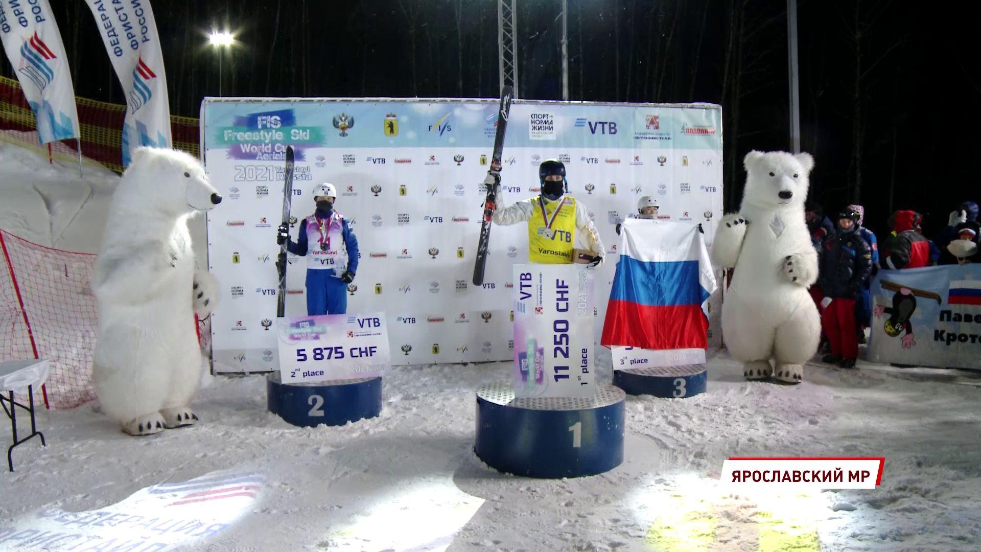 В Подолино завершился этап Кубка мира по лыжной акробатике