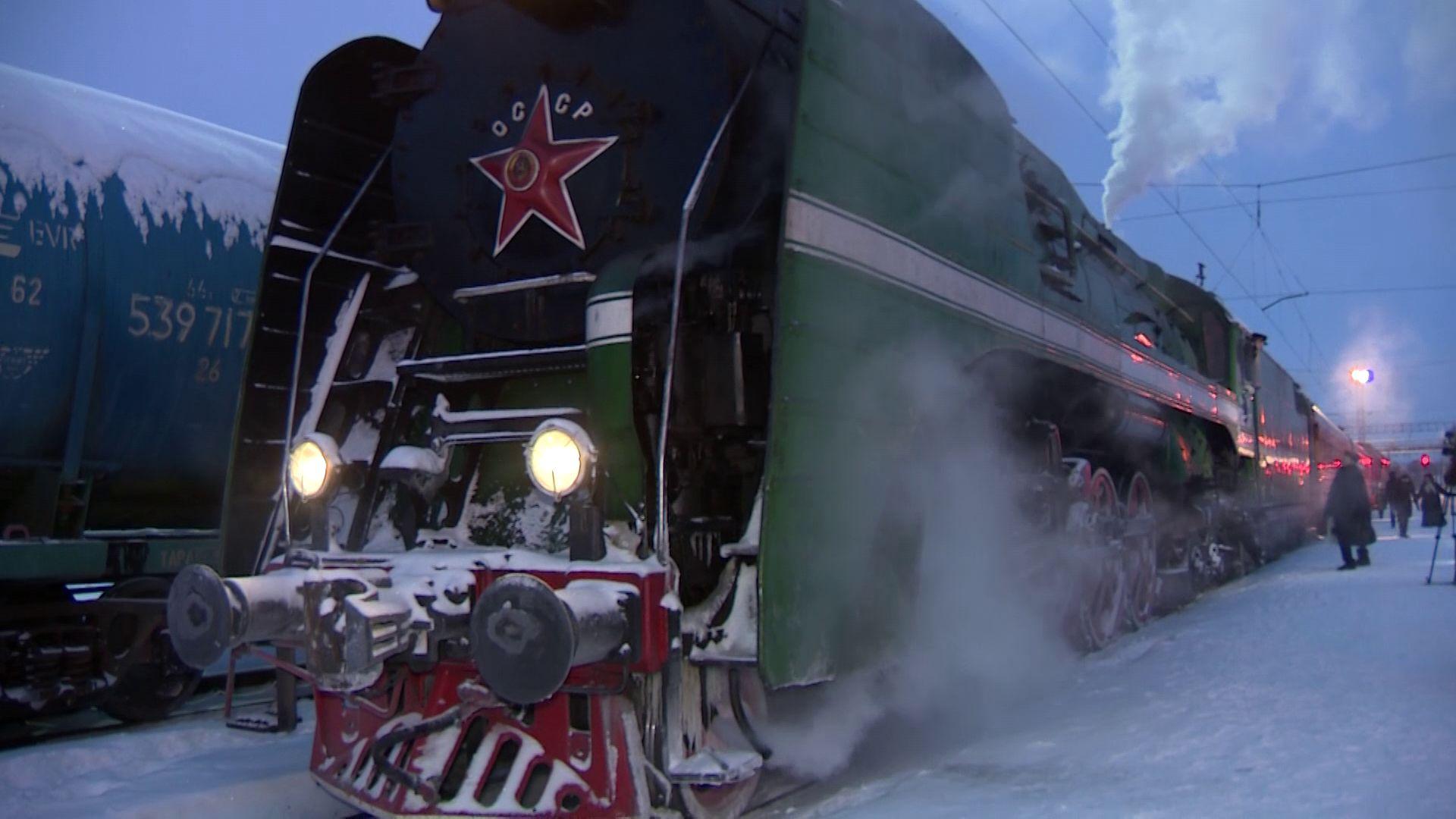 В Ярославской области начал курсировать ретро-поезд