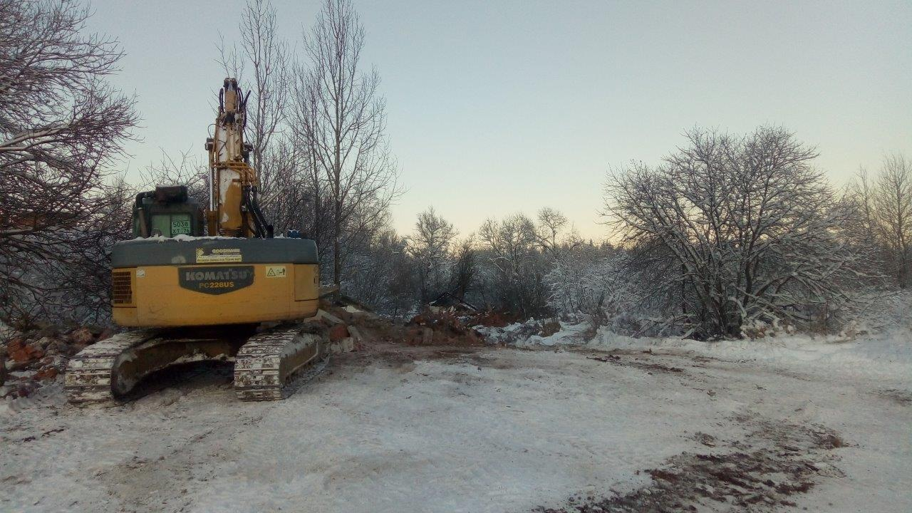 Реконструкция очистных сооружений в селе Золоторучье перешла ко второму этапу
