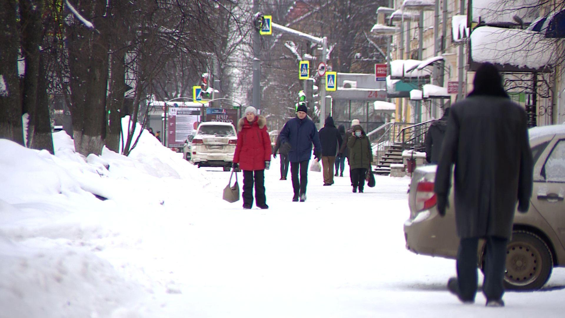 Уборку города от снега в мэрии назвали качественной