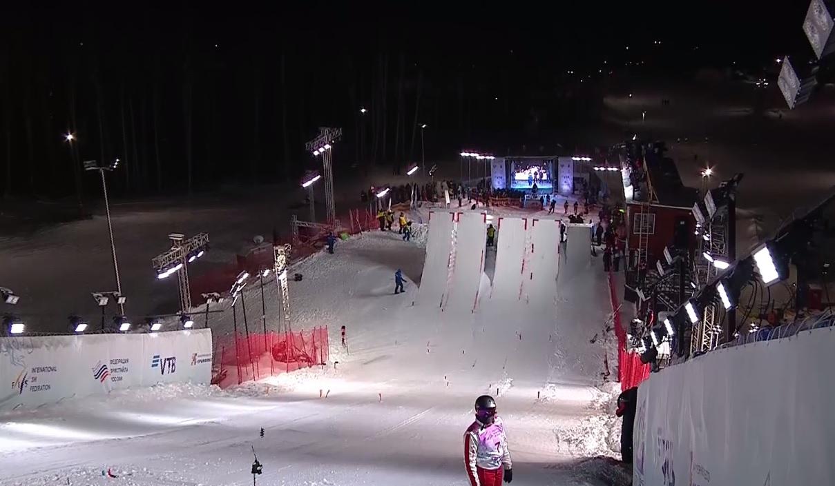 Ярославцы в числе лучших: итоги первого дня Кубка мира по фристайлу