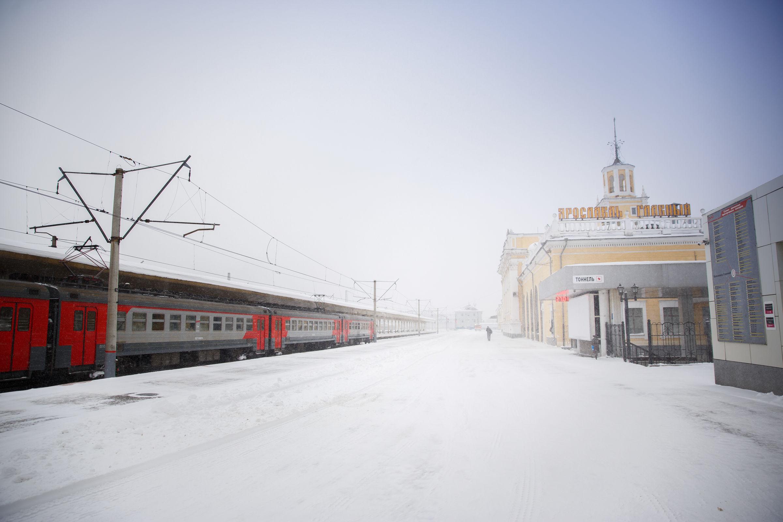 В Ярославской области пригородные поезда перевезли 2,4 миллиона человек