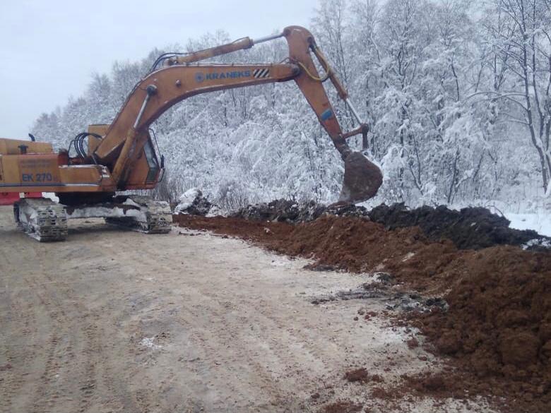 В Ярославской области начался ремонт дороги в Некоузском районе