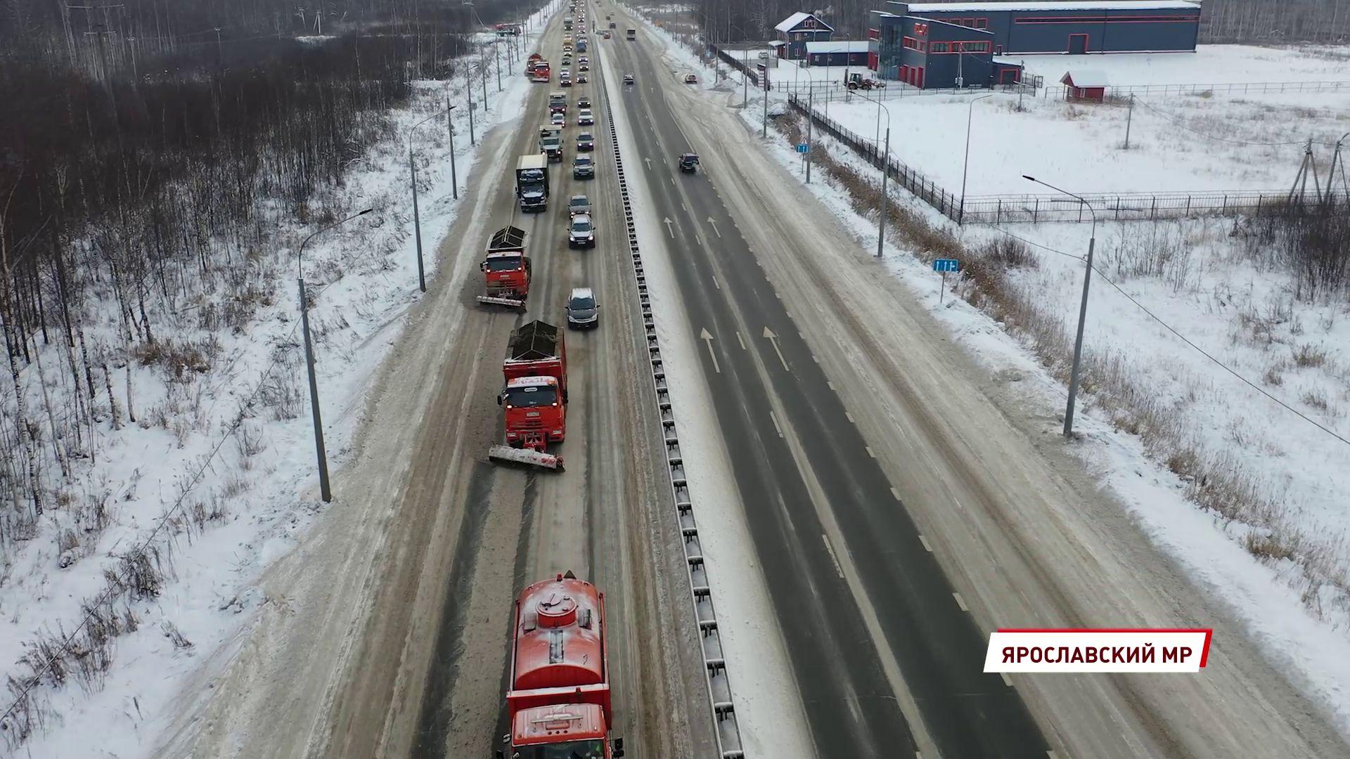 В Ярославле планируют увеличить количество дорожных рабочих и спецмашин