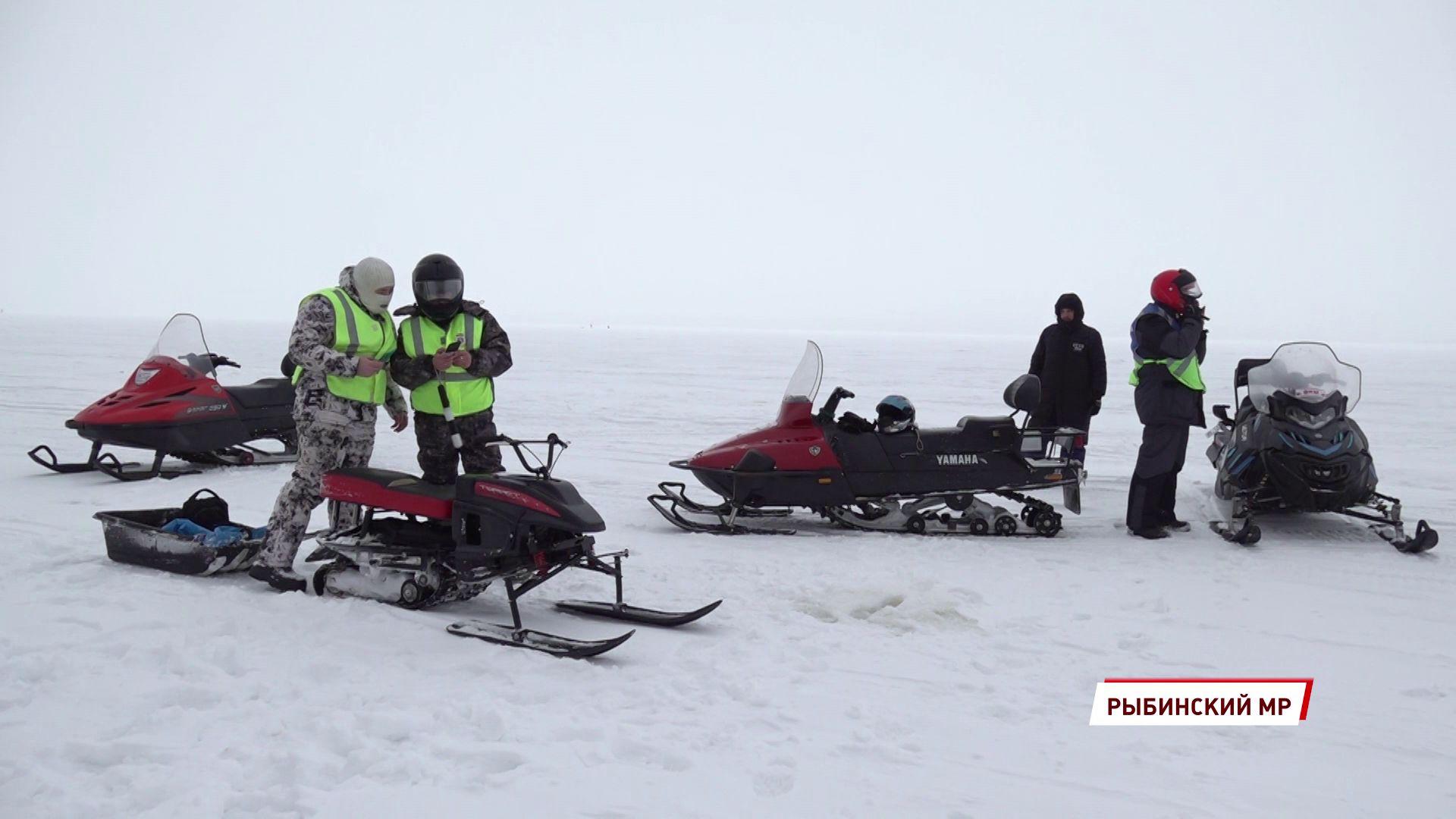 В Ярославской области прошел рейд по использованию снегоходов