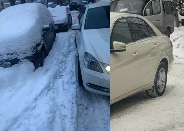 Жительница Ярославля засудила управляющую компанию за не убранный от снега двор