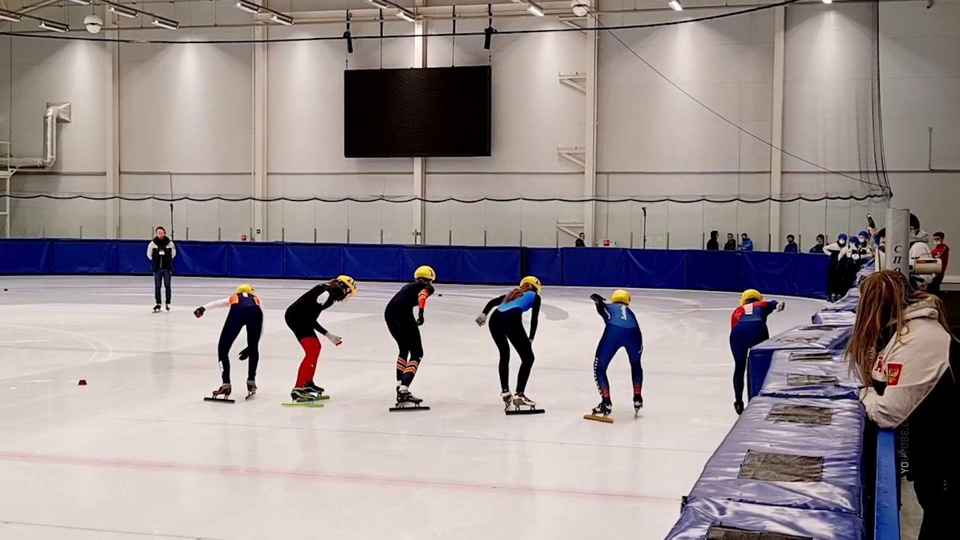 Ярославские спортсмены взяли пять медалей на всероссийских соревнованиях по шорт-треку
