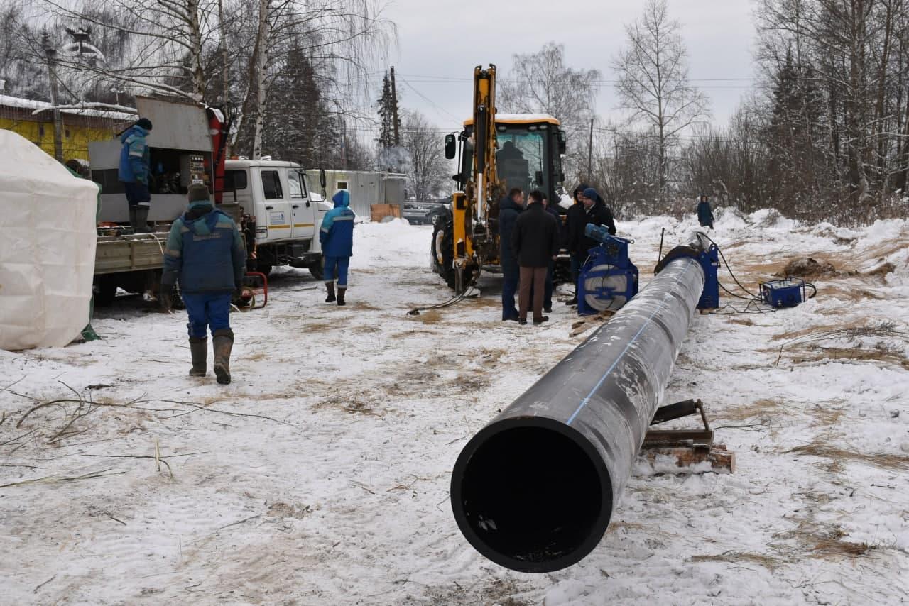 В Переславле-Залесском модернизируют объекты ЖКХ с износом более 60%
