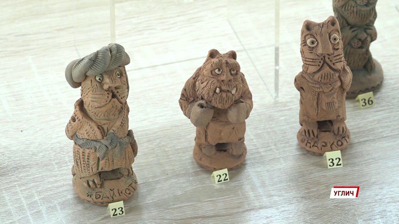 В музее Угличе открылась выставка керамики местного умельца