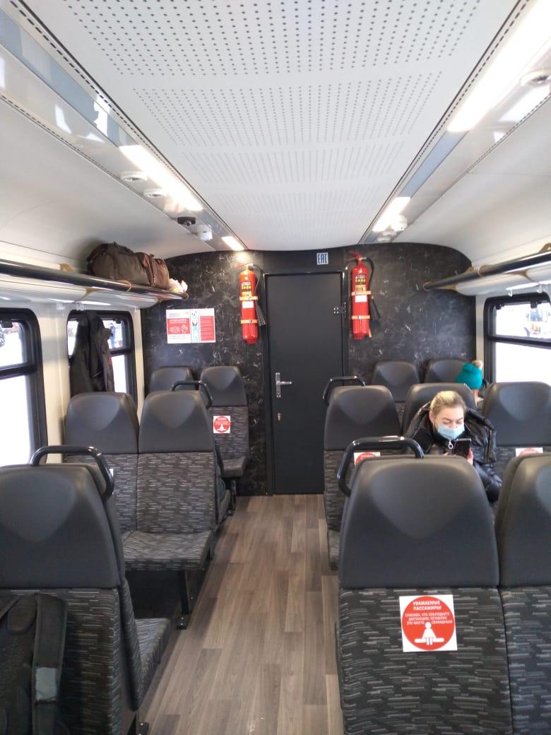 Ярославль и Иваново связали современные рельсовые автобусы