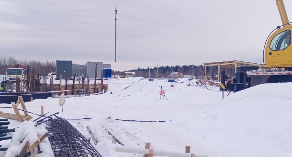 Новую станцию водоочистки в поселке Красные Ткачи планируют сдать осенью