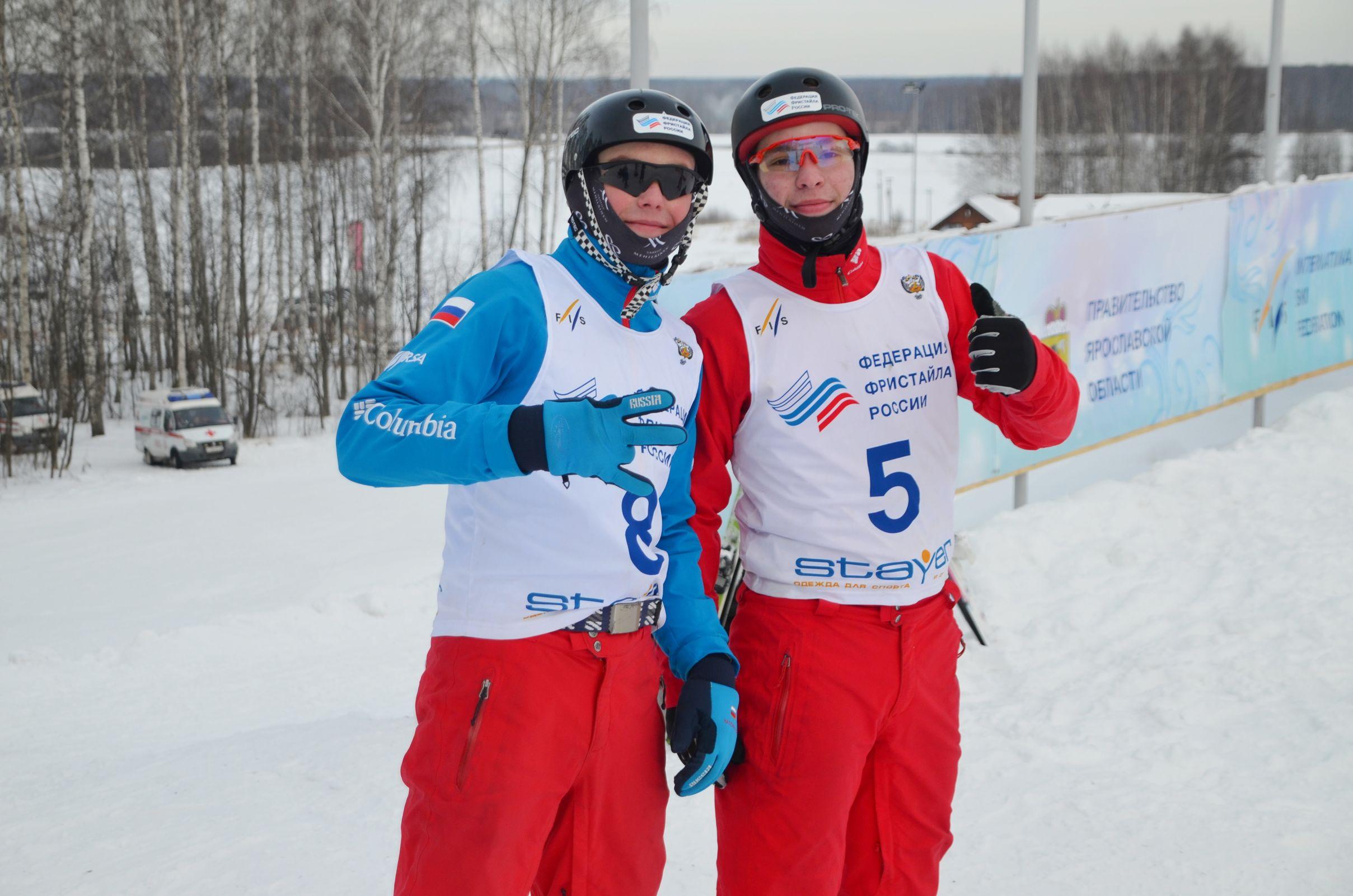 Ярославцы заняли первые места на очередном этапе Кубка России по фристайлу