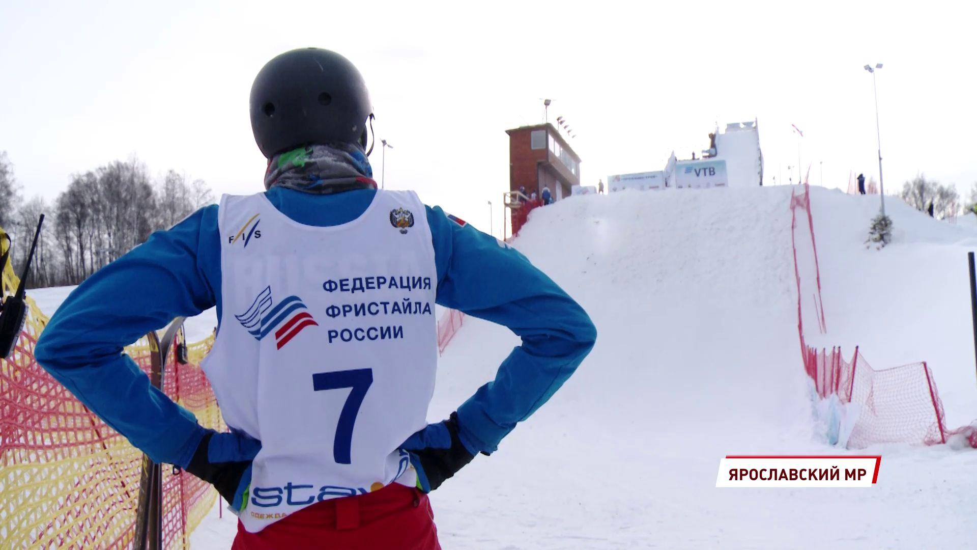 В Подолино сильнейшие фристайлисты страны сражались за награды Кубка России