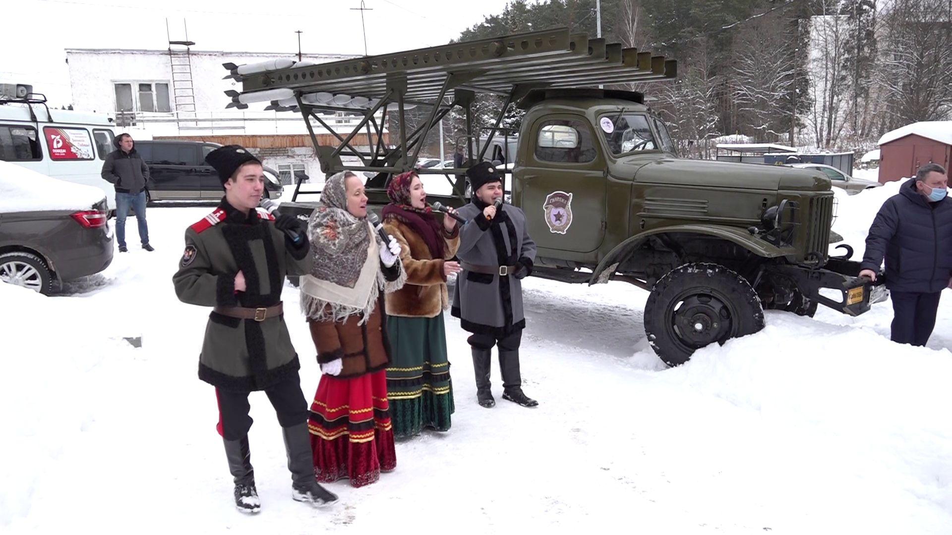 Ветерану Александру Каменецкому в честь Дня рождения устроили большой праздник
