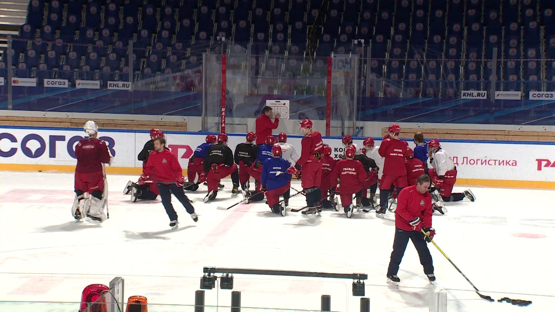 «Локо» временно переезжает на главную ледовую арену Ярославля