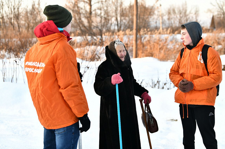 В Ярославле продолжает работать «Снежный десант»