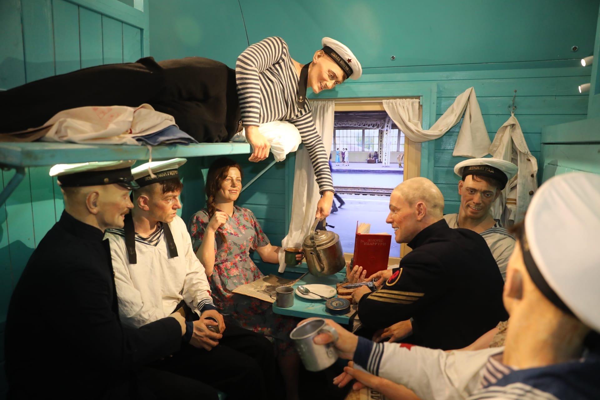 Дмитрий Миронов посетил «Поезд Победы»