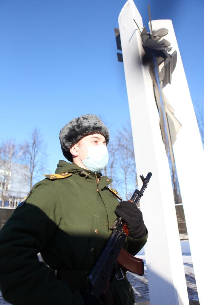 В Ярославле почтили память воинов-интернационалистов