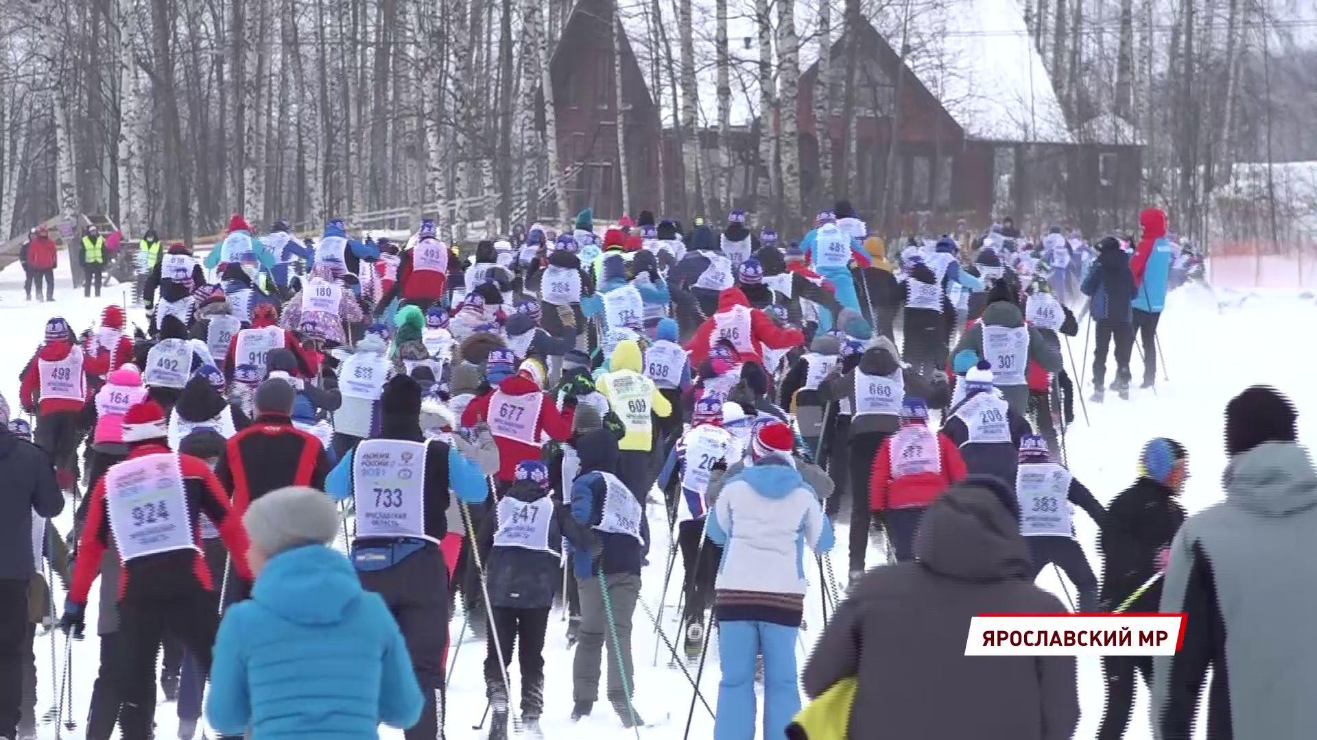 В лыжном забеге в Подолино приняли участие более 500 человек