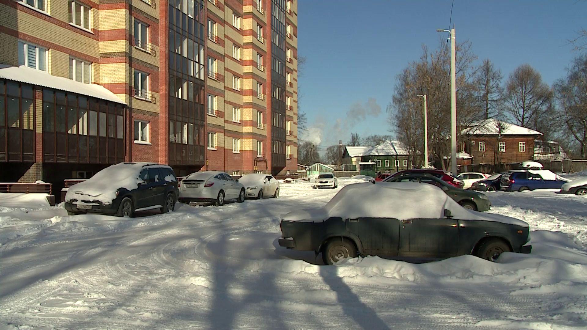 В Ярославле вывезено около двух с половиной тысяч кубометров осадков