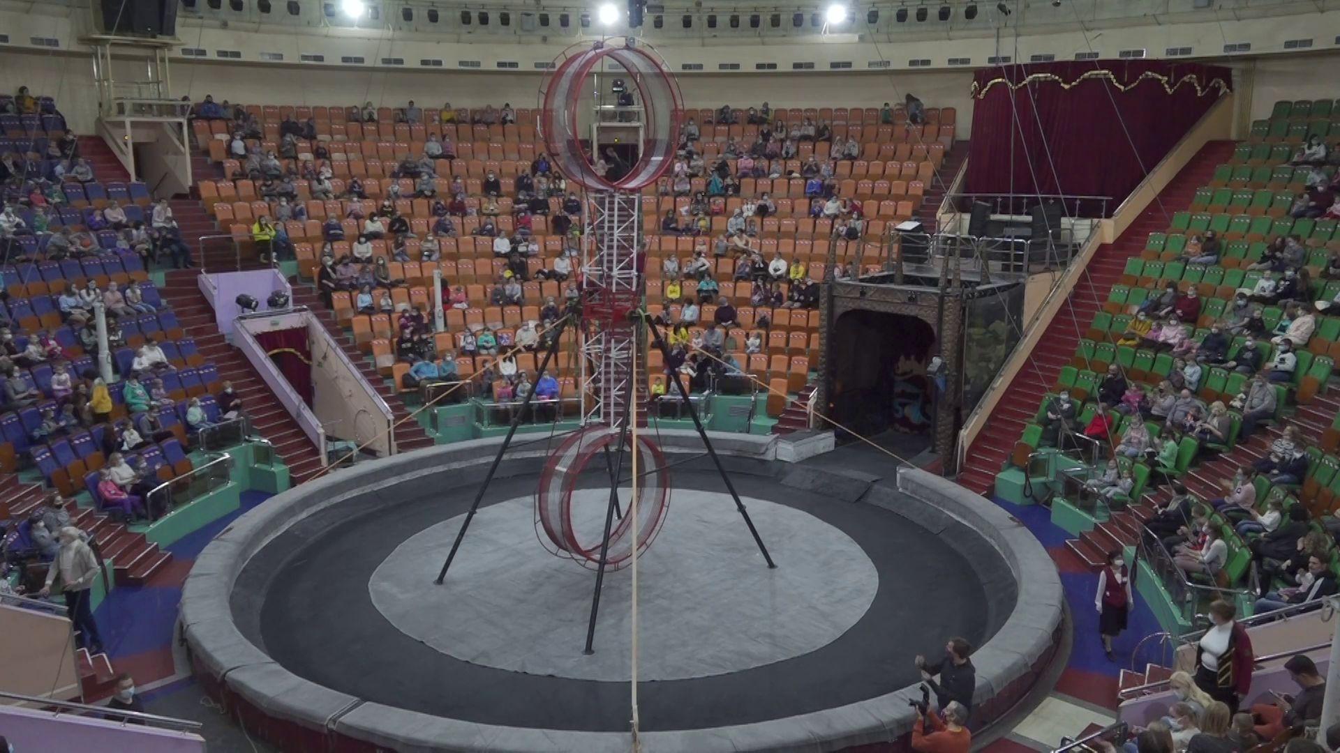 В Ярославле семьи врачей получили билеты в цирк