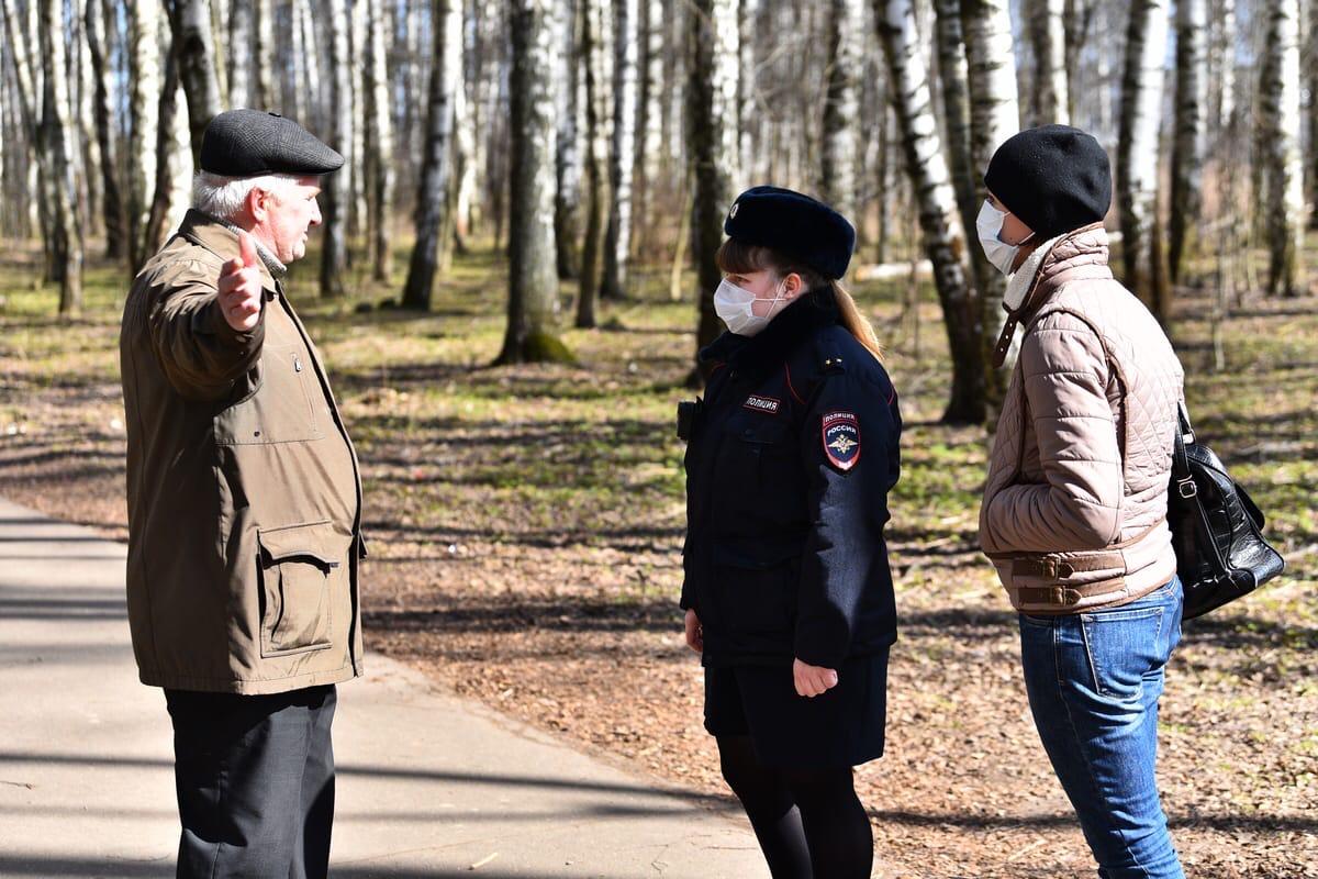 За нарушение масочного режима полиция оштрафовала более четырех тысяч ярославцев