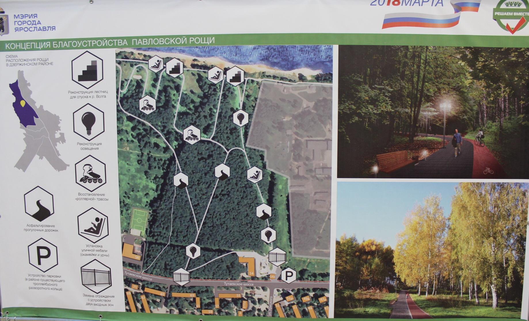 Ярославцы выберут, какими будут два городских парка