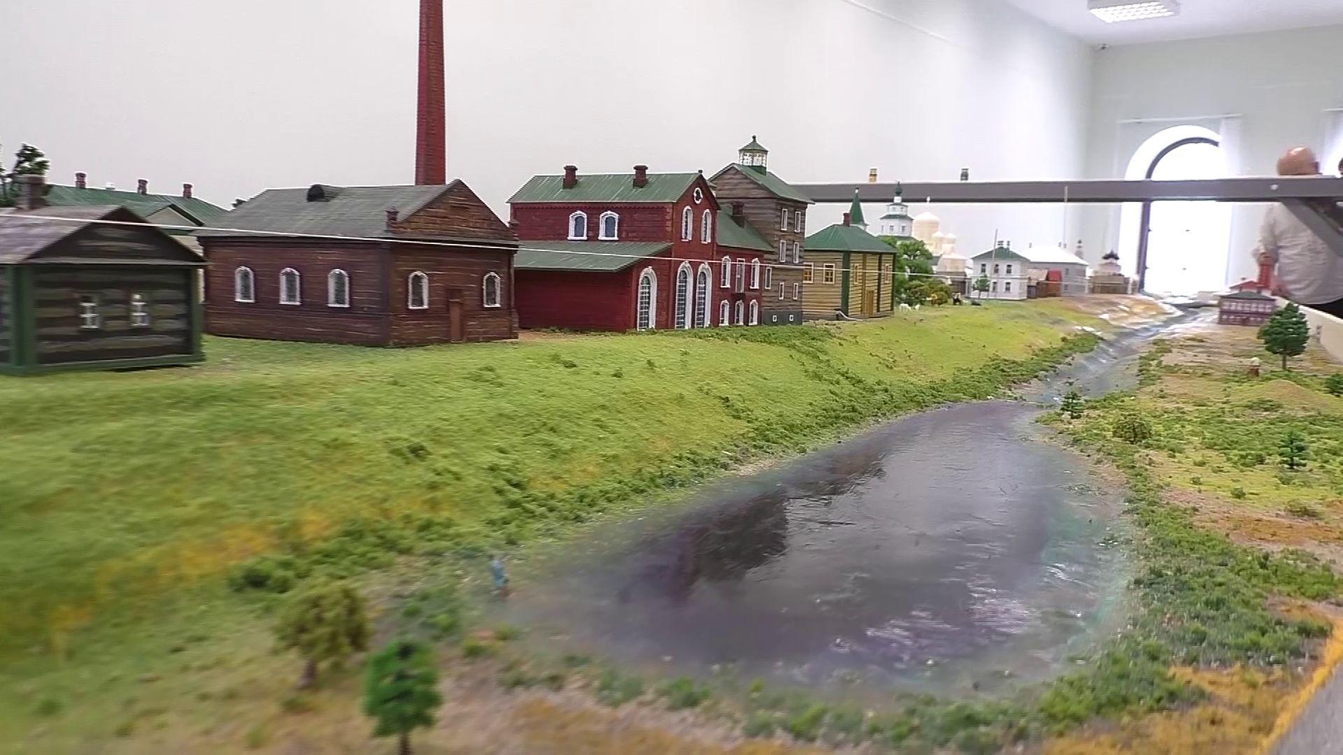 В Рыбинске создают интерактивное панно, которое повторяет рельеф местности Мологи