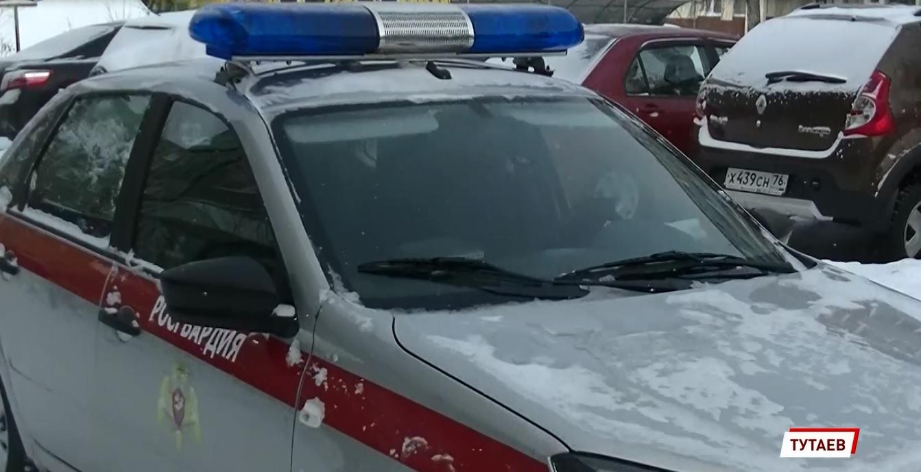 В Ярославской области сотрудники Росгвардии спасли замерзающую женщину