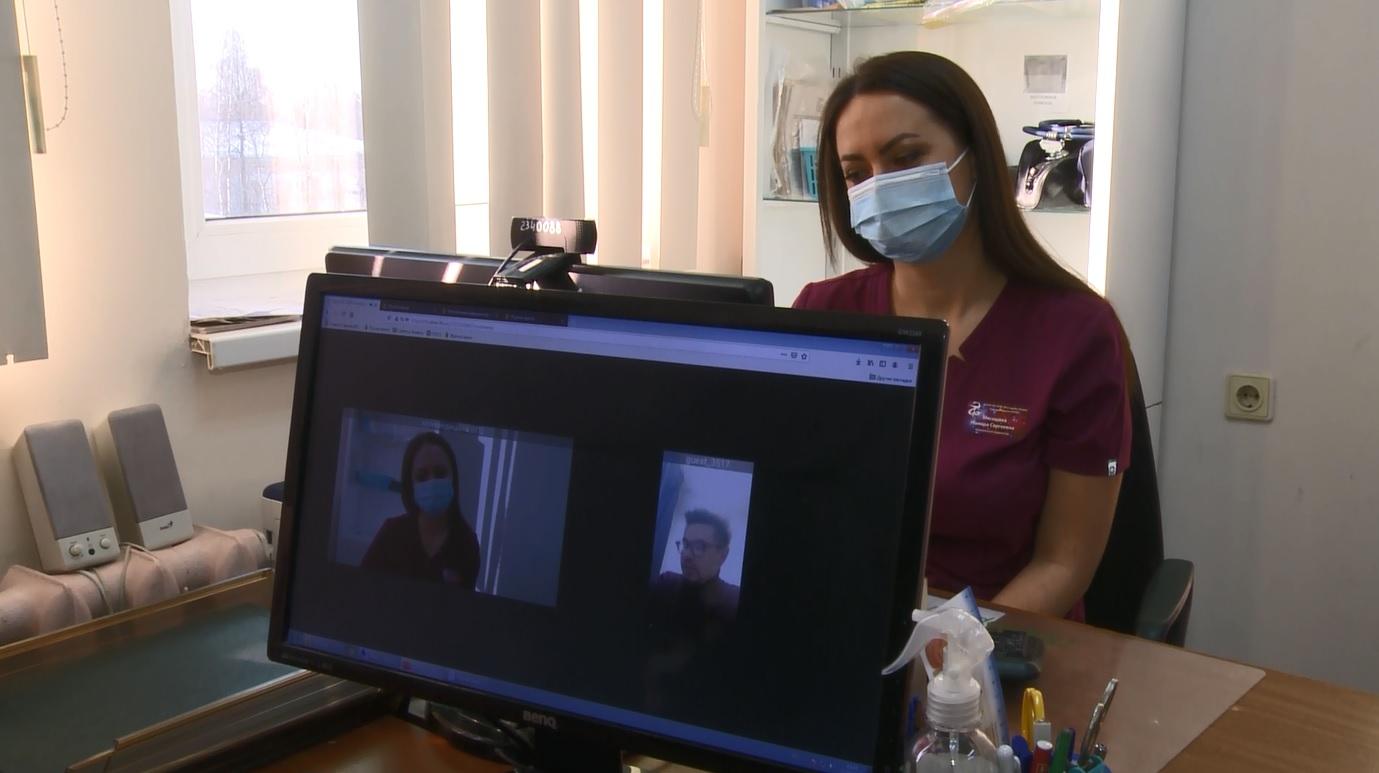 В ярославской поликлинике врачи начали вести прием онлайн