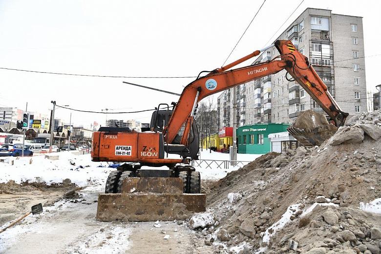 На проспекте Машиностроителей готовят к перекрытию участок второго этапа ремонта