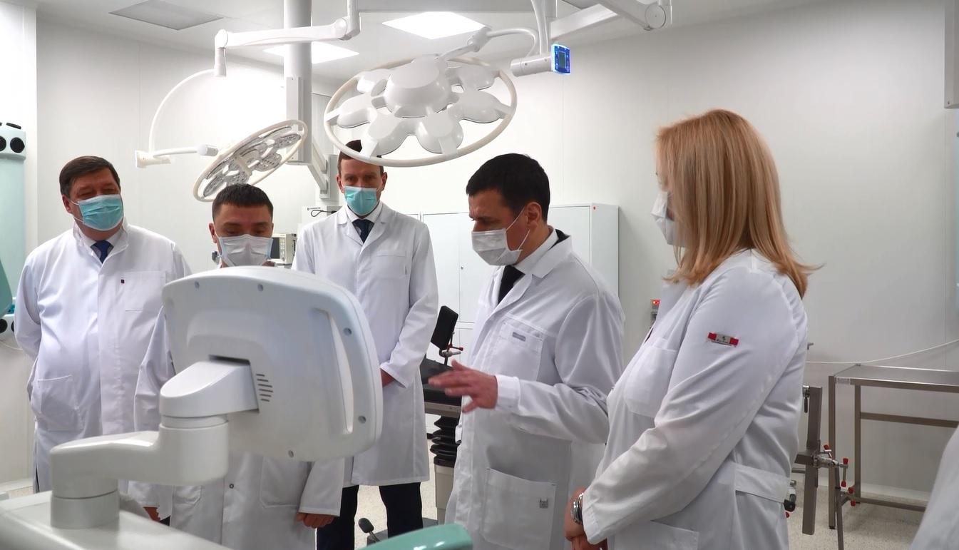 В Соловьевской больнице открылась новая операционная с техникой последнего поколения