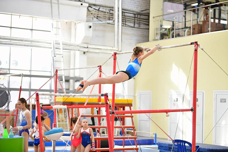 В Ярославле проходят всероссийские соревнования по спортивной гимнастике