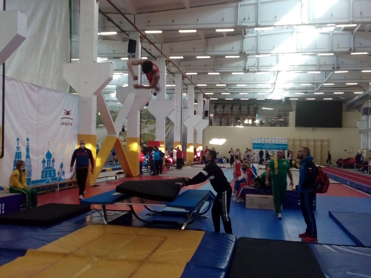 Ярославль примет Кубок России по прыжкам на батуте