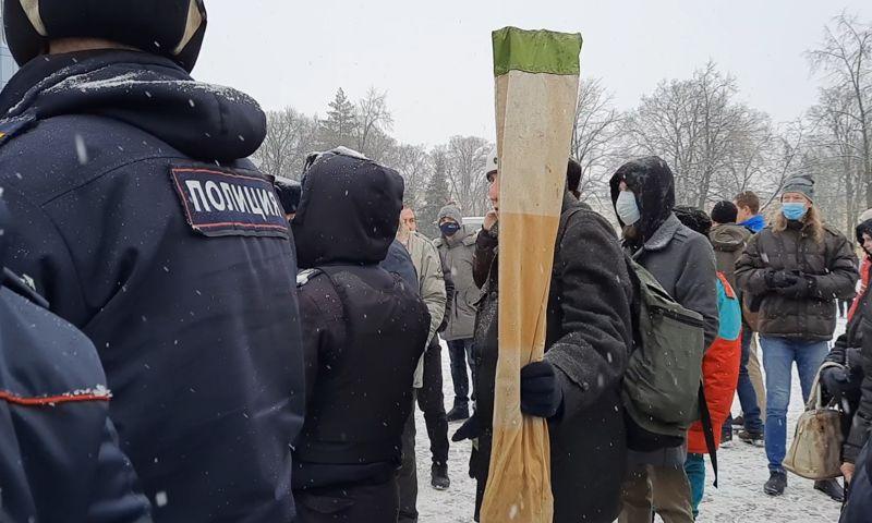 В России увеличили штрафы за неповиновение полиции на митингах