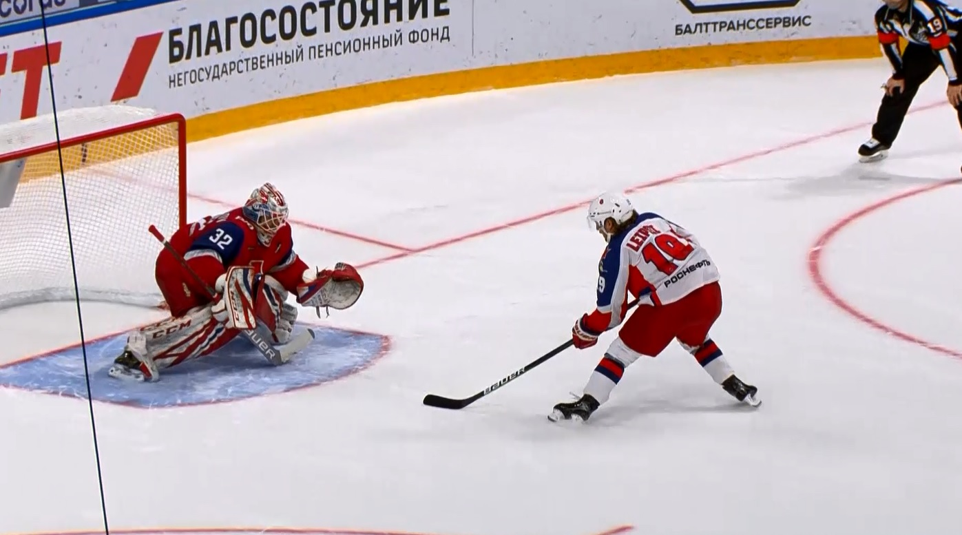 Ярославский «Локомотив» проиграл ЦСКА в предпоследнем матче регулярного чемпионата КХЛ