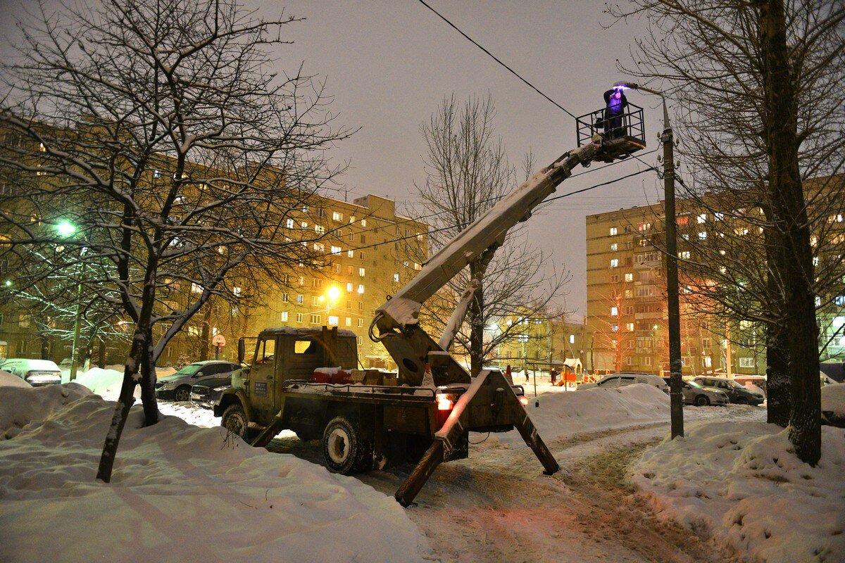 В Ярославле начались работы по масштабной модернизации уличного освещения