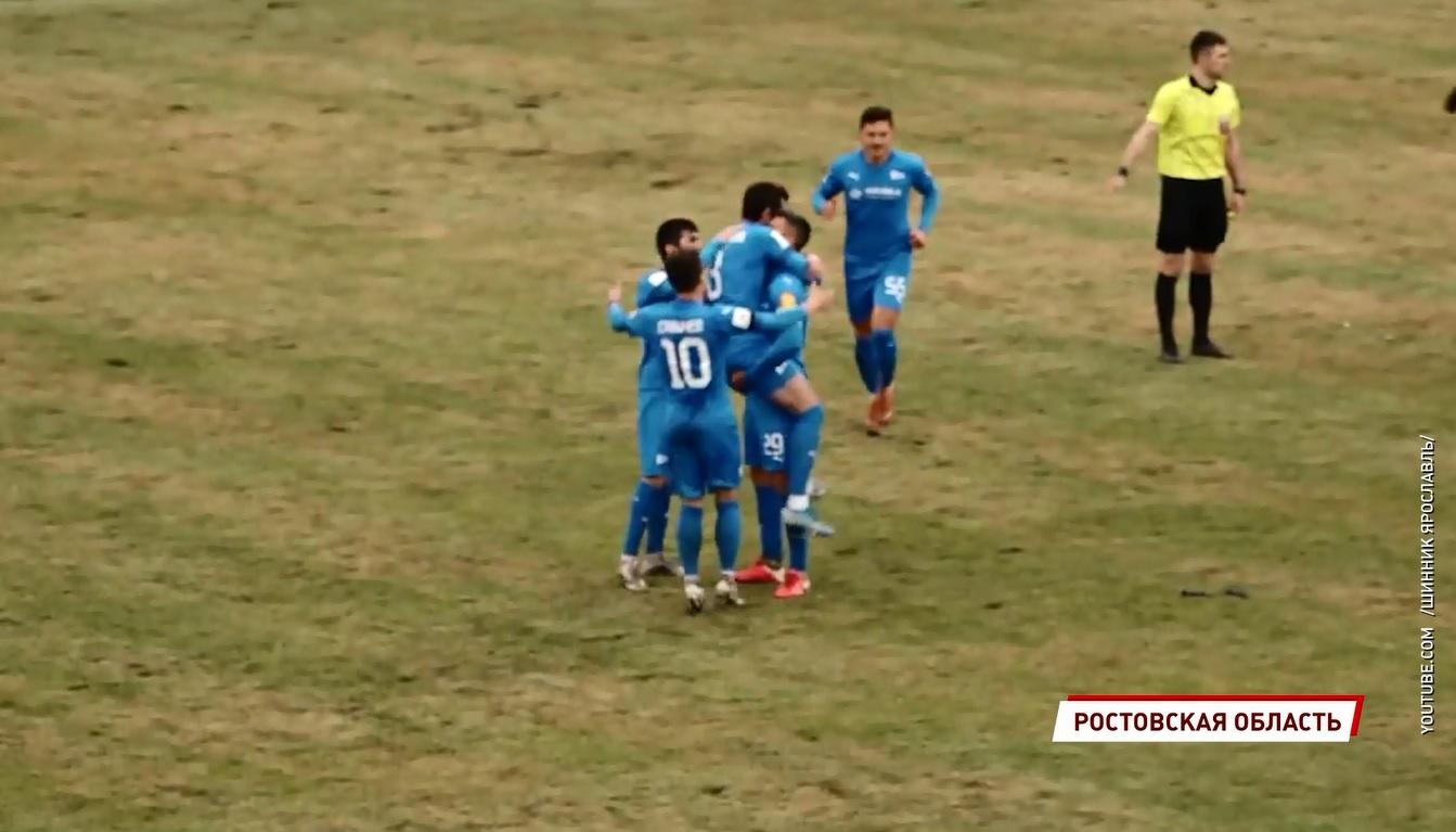 Ярославский «Шинник» разгромно проиграл в первом после перерыва матче чемпионата ФНЛ