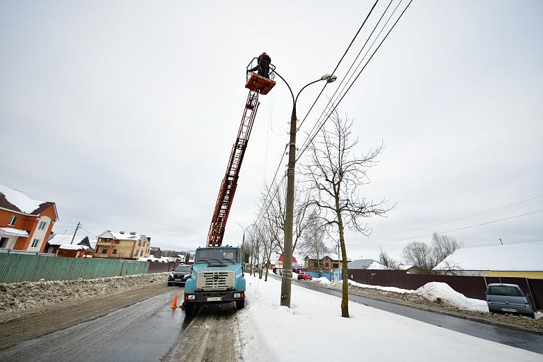 Устаревшие светильники на современные новые меняют в первую очередь на центральных проспектах и магистралях