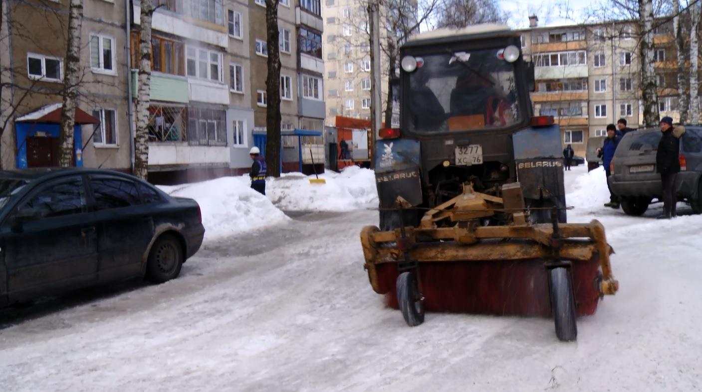 Ярославские дворы в этом году стали убирать лучше