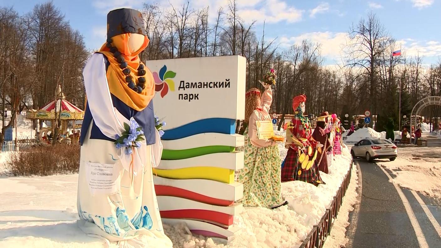 В Ярославле открылась выставка масленичных кукол
