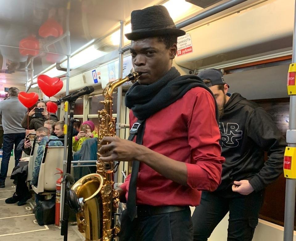 В Международный женский день по Ярославлю проедет «Музыкальный трамвай»