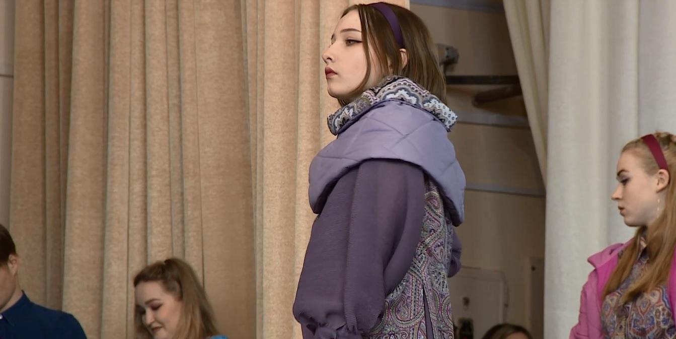 В Ярославле будущие модельеры-дизайнеры устроили творческий показ своих работ