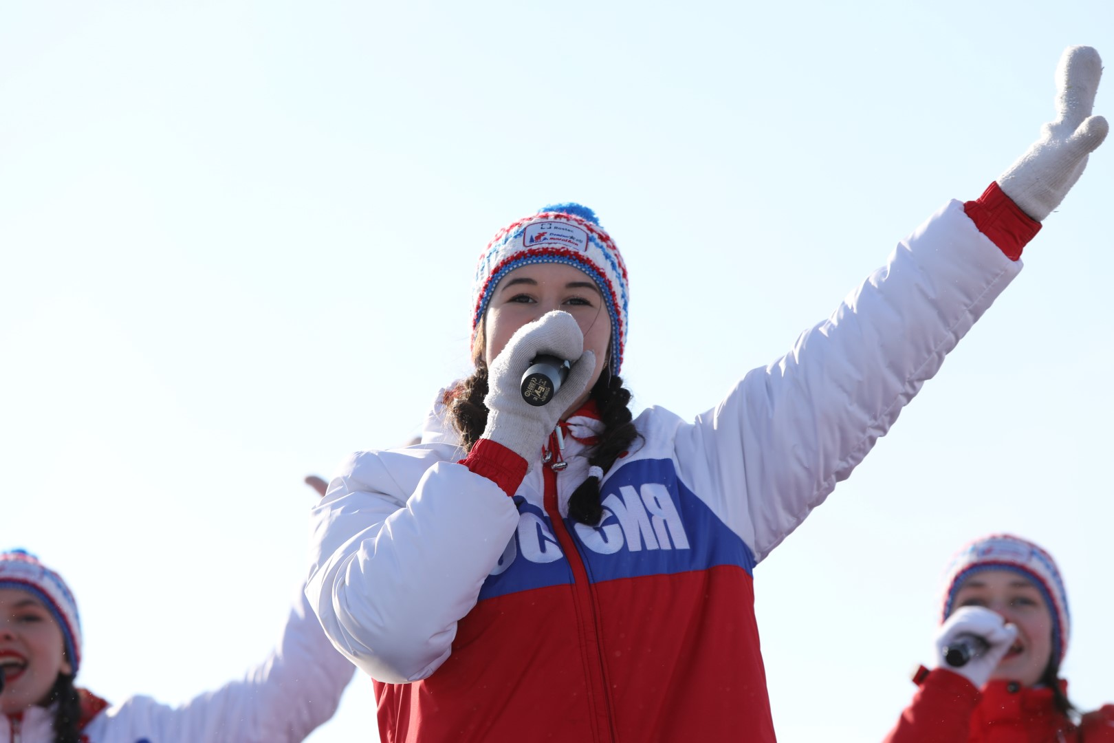Дмитрий Миронов дал старт XIV Международному Деминскому лыжному марафону